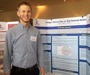 Andrew Thomas at Concord University 2015 Undergraduate Research Day
