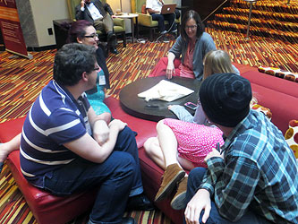 Concord Students at 2014 Southern Sociological Society Conference Charlotte NC