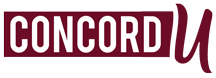 Concord University Footer Logo