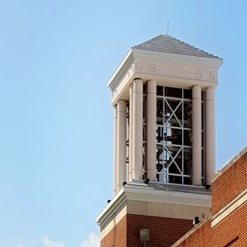 This is a photo of the Marsh Memorial Carillon