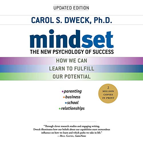 Cover of Mindset: The new psychology of success by Carol S. Dweck, Ph.D.