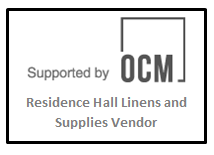 Link to residence hall linens and supplies vender